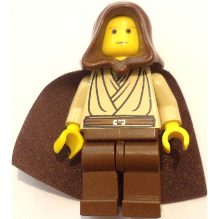 Lego Minifigure Star Wars Obi-Wan Kenobi Young Hood Cape Sw0329