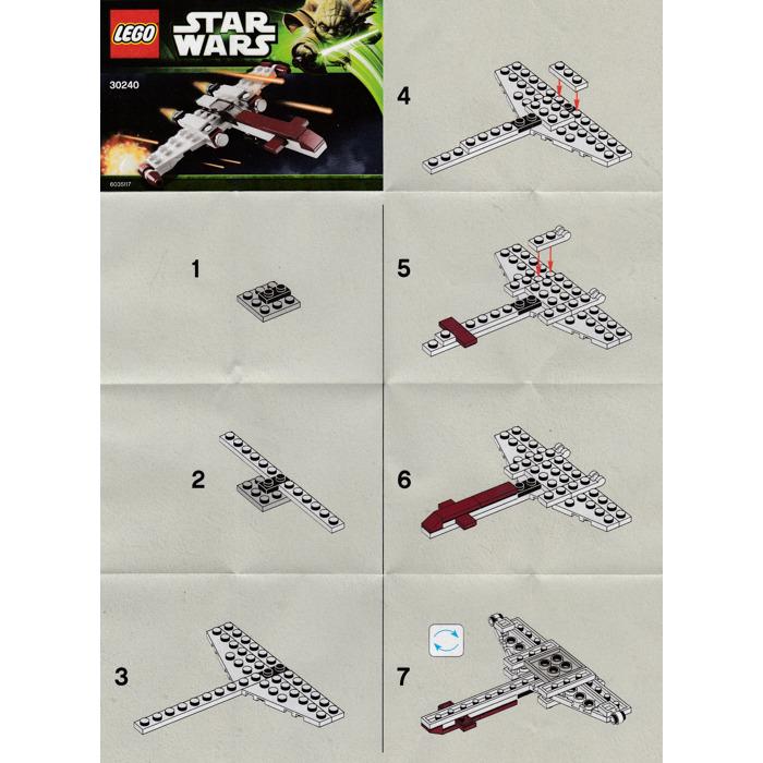 Lego Z 95 Headhunter Set 30240 Instructions Brick Owl Lego