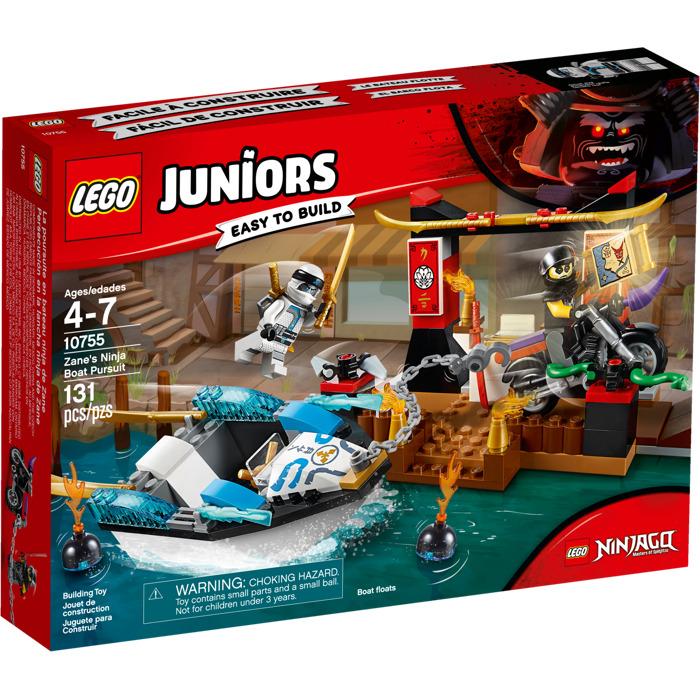 LEGO Zane's Ninja Boat Pursuit Set 10755 | Brick Owl ...