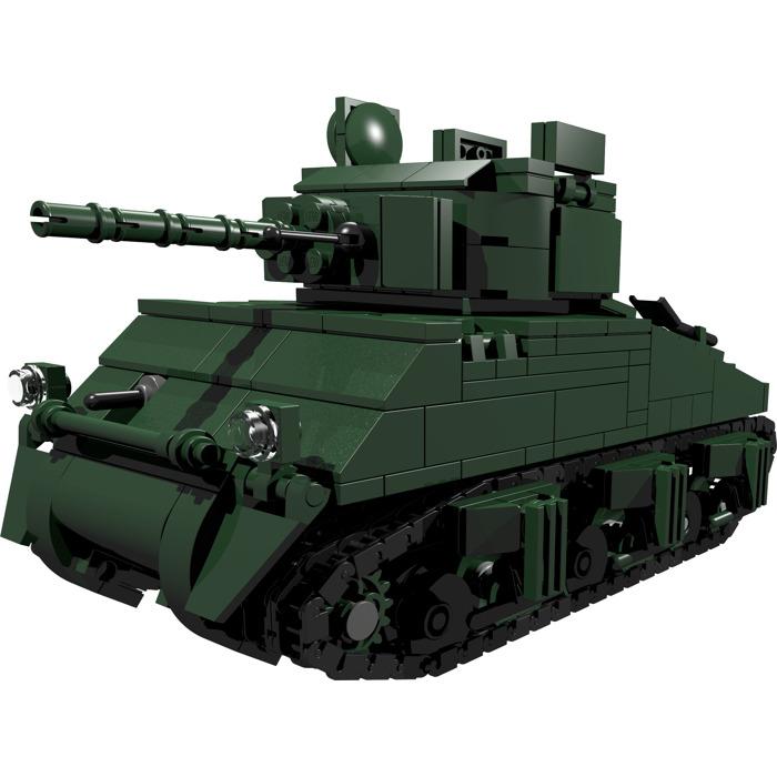Ww2custombrickmodels Sherman Tank Instructions Brick Owl Lego