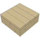 Dag's Bricks 1 x 1 Tile Instructions