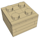 Dag's Bricks 2 x 2 Brick Instructions