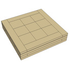 Dag's Bricks 2 x 2 Tile Instructions