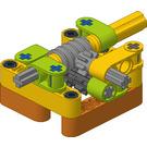 FLL Workshop Power Transmission Module - Worm Gear 8:1 Turn