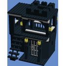 Lauren's Bricks LLC Custom Lego Black Castle Dungeon With Watchtower Set
