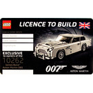 LEGO 007 Licence to Build Card (5005665)