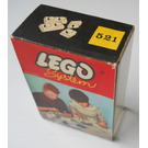 LEGO 1 x 1 and 1 x 2 Plates (architectural hobby und modelbau version) Set 521-9 Packaging
