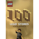 LEGO 100 LEGO Stores North America Poster