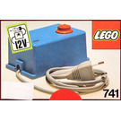 LEGO 12 V Transformer 220V TYPE II Set 741