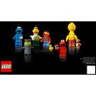 LEGO 123 Sesame Street Set 21324 Instructions