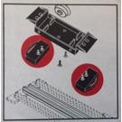 LEGO 12V Sleeper (Track) Contacts Set 704-1