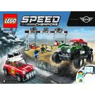 LEGO 1967 Mini Cooper S Rally and 2018 MINI John Cooper Works Buggy Set 75894 Instructions