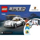 LEGO 1974 Porsche 911 Turbo 3.0 Set 75895 Instructions