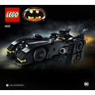 LEGO 1989 Batmobile Set 40433 Instructions
