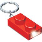 LEGO 1x2 Brick Key Light (Red) (5004264)