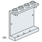 LEGO 1x4x3 Wall Element Clear Set 3507