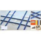 LEGO 2 Cross Rails, 8 Straight Tracks, 4 Base Plates Set 155