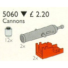 LEGO 2 Pirate Cannons and 12 Cannon Balls Set 5060