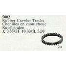 LEGO 2 Rubber Crawler Tracks Set 5002