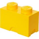 LEGO 2 stud Yellow Storage Brick (5003570)