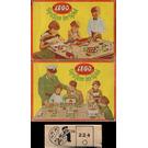 LEGO 2 x 2 & 2 x 4 Curved Bricks Set 224-1