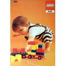 LEGO 2 x 2 Plates (cardboard box version) Set 520-2