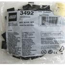 LEGO 2x2 Black Smooth Tiles Set 3492