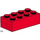 LEGO 2x4 Red Bricks Set 3462
