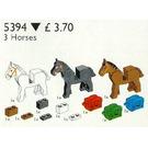 LEGO 3 Horses and Saddles Set 5394
