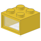 LEGO 4.5V Electric Brick with 3 Holes & Clear Diffuser Lens