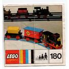 LEGO 4.5V Train with 5 Wagons Set 180 Instructions