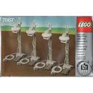 LEGO 4 Lighting Standards Electric 12V Set 7867 Packaging