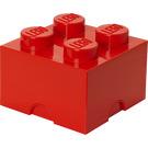 LEGO 4 stud Red Storage Brick (5003575)