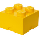 LEGO 4 stud Yellow Storage Brick (5003576)