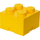 LEGO 4 stud Yellow Storage Brick (5004893)