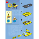 LEGO 4-Wheeled Front Shovel Set 6474 Instructions