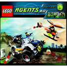 LEGO 4-Wheeling Pursuit Set 8969 Instructions