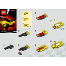LEGO 458 Italia Set 30194 Instructions