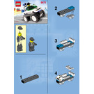 LEGO 4WD Police Patrol Set 6471 Instructions