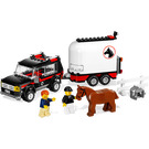 LEGO 4WD with Horse Trailer Set 7635