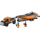 LEGO 4x4 with Powerboat Set 60085