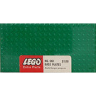 LEGO 5 - 10X20 base plates - Green Set 061-1
