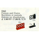 LEGO 6 Fences and 2 Gates Set 5162