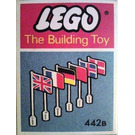 LEGO 6 International Flags (The Building Toy) Set 442B