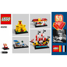 LEGO 60 Years of the Brick Set 40290 Instructions