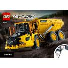 LEGO 6x6 Volvo Articulated Hauler Set 42114 Instructions