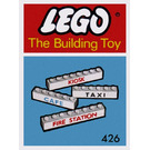 LEGO 7 Named Beams Set 426-1
