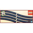 LEGO 8 Curved 12V Conducting Rails Set 751-1