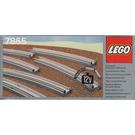 LEGO 8 Curved Electric Rails Grey 12V Set 7855