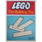 LEGO 8 Pieces 2x8 (The Building Toy) Set 427